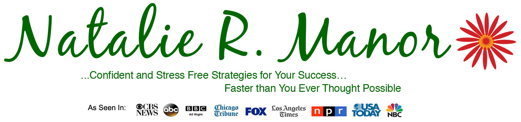 Natalie Manor   Confident and Stress Free Strategies for Your Success… Faster than You Ever Thought Possible