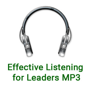 Effective Listening for Leaders MP3