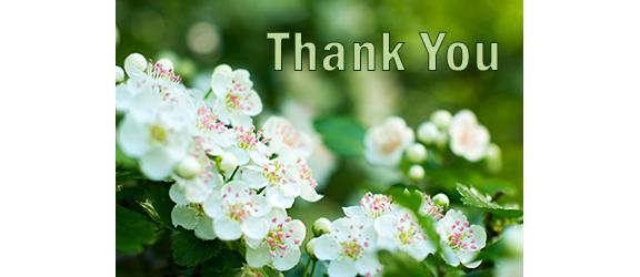 Saying Thank You Often