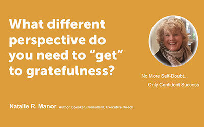 "What different perspective do you need to ""get"" to gratefulness?"