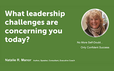 What leadership challenges are concerning you today?