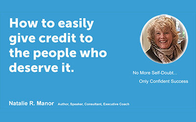 How to easily give credit to the people who deserve it.
