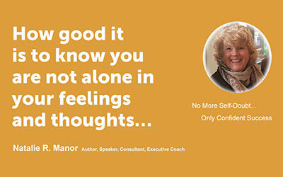 How good it is to know you are not alone in your feelings and thoughts…