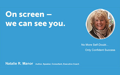 On screen – we can see you.