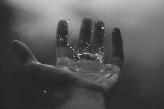 Raindrops and breathing