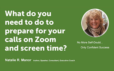 What do you need to do to prepare for your calls on Zoom and screen time?